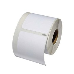 Dymo 30370 Compatible Removable Zip Disk Labels - 250 Labels Per Roll 1 Roll Per Package