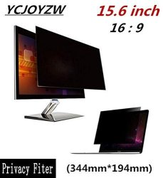 INCH YZW-15.6 Monitor Anti-glare Privacy Filter Screen Protector Film For 16:9 Laptop 13 7 16 Wide X 7 5 8 High 344MM194MM 15.6