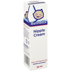 Bennetts Nipple Cream 50ML