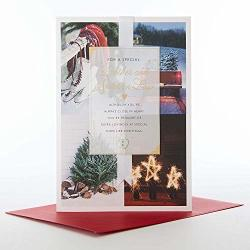 Brother And Sister In Law Medium Hallmark Christmas Card 'extra Lovingly'