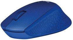 Logitech 910-004910 Wireless Mouse in Blue
