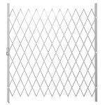 Saftidor G Slamlock Security Gate - 1800MM X 2000MM White