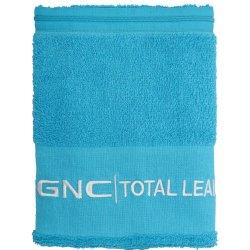 GNC Total Lean Gym Towel With Zip Blue