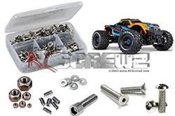 USA TRA089 - Traxxas Maxx 1 10TH Monster 89076-4 Stainless Steel Screw Kit