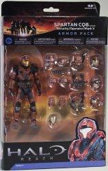 McFarlane Toys Halo Reach Series 5 6 Inch Scale Spartan Cqb Custom & 3 Sets Of Armor
