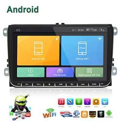 Double Din Car Stereo Android 6.0 Radio For Vw Passat Golf MK5 MK6 Jetta T5 Eos Polo Touran Seat Sharan 1G DDR3 + 16G