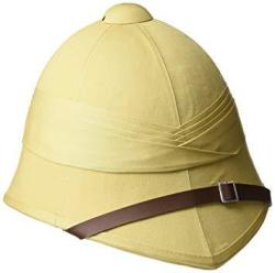 Mil-Tec British Foreign Services Style Khaki Tropical Pith Helmet