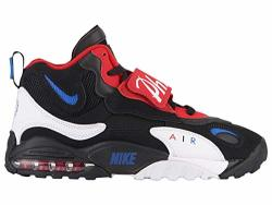 Nike Men's Air Max Speed Turf Black game Royal university Red Leather Cross-trainers Shoes 10 M Us