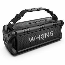 50W 70W Peak Wireless Bluetooth Speakers Built-in 8000MAH Battery Power Bank W-king Outdoor Portable Waterproof Tws Nfc Speaker