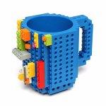 Building Brick Mug - Blue