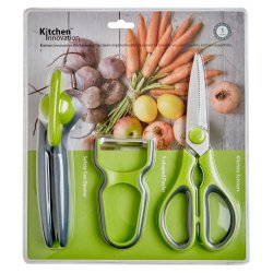Innovation 3 Pce Gadget Set Grey green