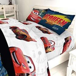 Disney Pixars Cars JF29586WM Twin Sheet Set Kid's Bedding