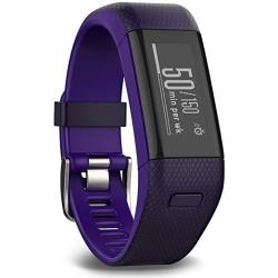 Garmin Vivosmart Hr+ Activity Tracker Regular Fit Imperial Purple 010-N1955-37 - Renewed