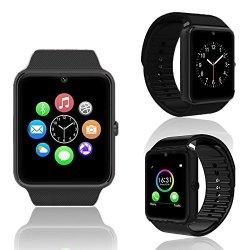 InDigi 2- In -1 Stylish GSM Wireless Watch W Bluetooth 3.0 Camera Unlocked At &t T-mobile W Fitness T