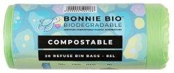 Bonnie Bio Bonnie-bio Compostable Refuse Bags - 85 Litre
