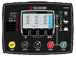 D-700 Synchronization Controller Auto Learning Feature Datakom Multi-function Web Based