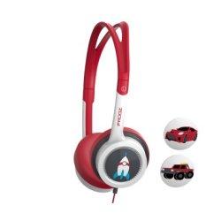 iFrogz Zagg Little Rockerz Headphones in Black & Red