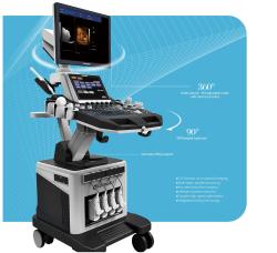 DJ Med DWC900 V3.0 High Quality Real Time 4D Color Doppler Ultrasound