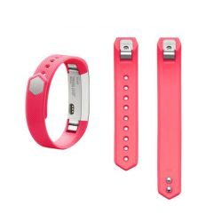 Adjustable Silicone Band For Fitbit Alta & Hr - Hot Pink