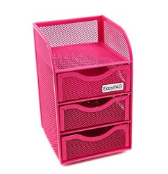 Wondrous Paike Easypag Mesh Desk Accessorie Organizer 3 Drawer Mini Hutch Office Supplies Caddy Pink R1065 00 Office Supplies Pricecheck Sa Home Interior And Landscaping Sapresignezvosmurscom