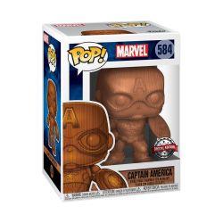 Funko Pop Marvel:marvel-captain America Special Edition