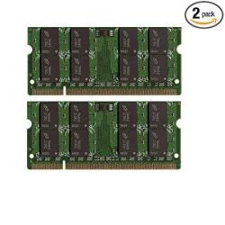 New 8GB 2X4GB DDR2-800 Sodimm Laptop Memory PC2-6400 For Dell Inspiron 1750