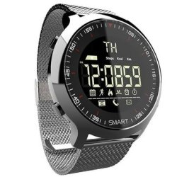 Sony Bakeey EX18 Bluetooth Outdoor Smart Watch 24 Hours Heart Rate Monitor Message Rem