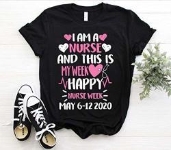 M Nurs Th S S My W K H Ppy Nurs W K 6 To 12 M Y 2020 Lov P Nky Wom N P Rf Ct G Ft T-sh Rt