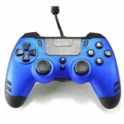 Steelplay - Metaltech Wired Controller - Blue PS4