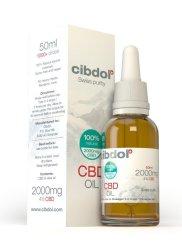 Cibdol Cbd Hemp Oil 2000MG 50ML