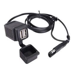 DC 12-24V 3.1A 3 USB Ports Car Charger Adapter Dual Lighter Socket hudiemm0B Car Charger