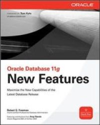 Oracle Database 11G New Features Paperback Parental Adviso