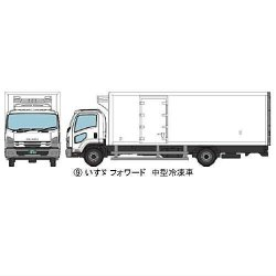 The Truck Collection NO.11 9.ISUZU Forward Refrigeration Car Product