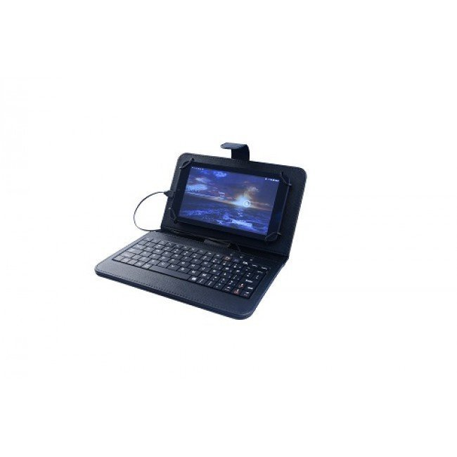 "Swiss Universal 9"" to 10.1"" Wired Keyboard Case"
