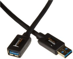 AmazonBasics USB 3.0 Extension Cable - A-male To A-female - 6.5 Feet 2 Meters