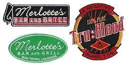 True Blood Tv Series Embroidered Set Of 3 Patches