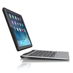 Zagg Slim Book Case and Keyboard for Apple iPad Air 2 in Black