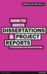 How to Write Dissertations & Project Reports Paperback, 2nd edition