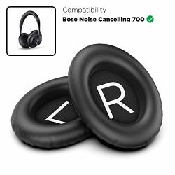 Encased Replacement Ear Pads For Bose 700 Noise Canceling Headphones Comfort Pu Leather Ear Cushion Cushion Set Black