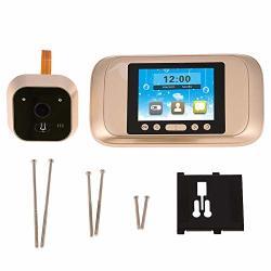 ZERONE1 Digital Door Viewer Smart Door Viewer HD Digital Peephole Camera Lcd Display Doorbell Infrared Night Viewing