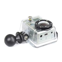 """RAM 1"""" Diameter Ball With Custom GoPro Hero Adapter"""