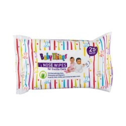 Baby Things Wipes Baby Nose 25'S