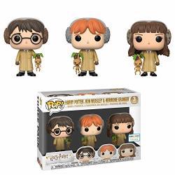 Funko Harry Potter Ron Weasley & Hermione Granger Pop 3 Pack B&n Exclusive