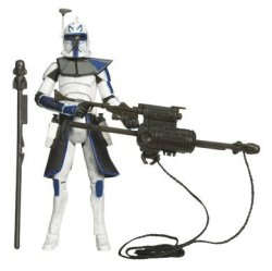 Hasbro Star Wars Clone Wars - Captain Rex 3.75 Figure With Firing Missile Launcher