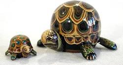 USA Turtle Nesting Doll 2PC. 3