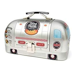 Suck UK Truck Bag For Adults Kids Lunch Box Food Containers One Size Silver