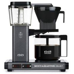 Technivorm Moccamaster Kbg Select Filter Coffee Machine - Stone Grey
