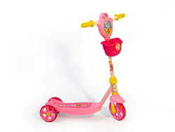 Kiddies 3 Wheel Scooter Pink