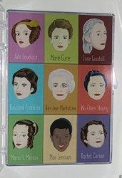 Nine Female Scientist Magnet Pack