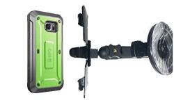 SlipGrip Car Holder For Samsung Galaxy S7 Edge Using Supcase Unicorn Beetle Pro Case Lp